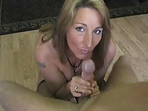 busty milf sucking a mean cock