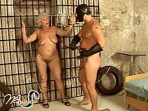 Old granny in bondage scenes