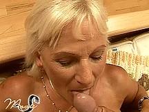 Granny fucking and sucking